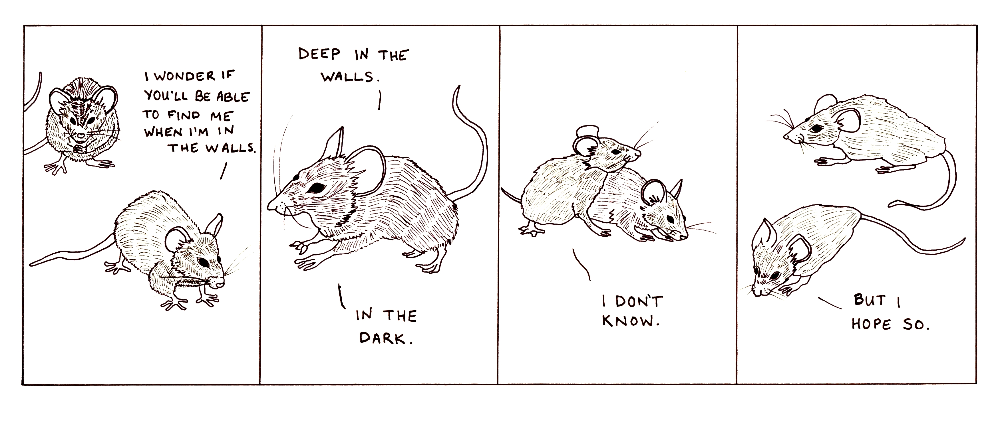 Sad mouse comics