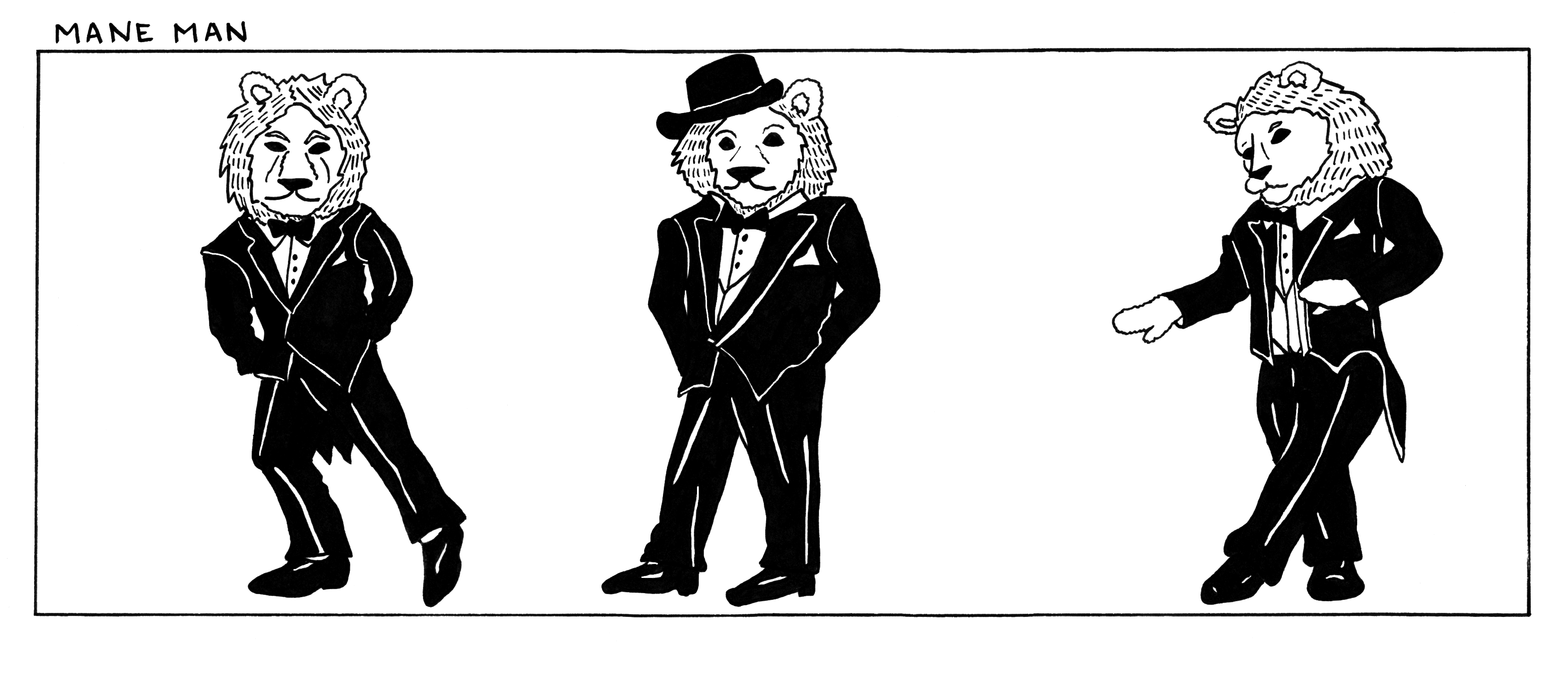 The dapper anthropomorphic lion of your dreams.